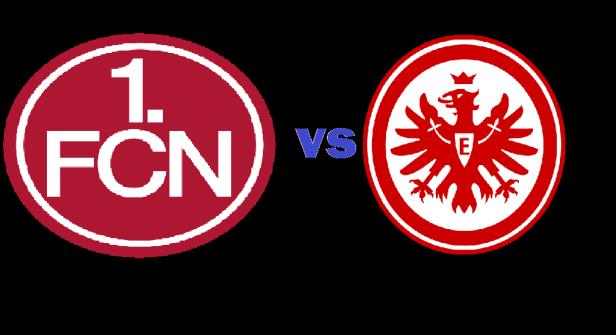 Spiel anküdigung FCN vs Eintracht Frankfurt